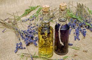 ekstrakty ziołowe w butelkach