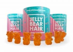 Jelly Bear Hair żelki rozwiązujące problem łysienia