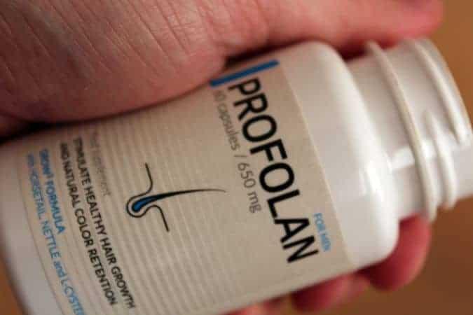 Tabletki na wypadanie włosów Profolan