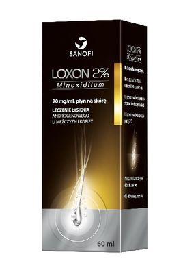 Loxon 2% i 5% opinie, efekty działania.