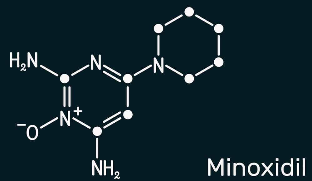 minoksydyl wzór chemiczny
