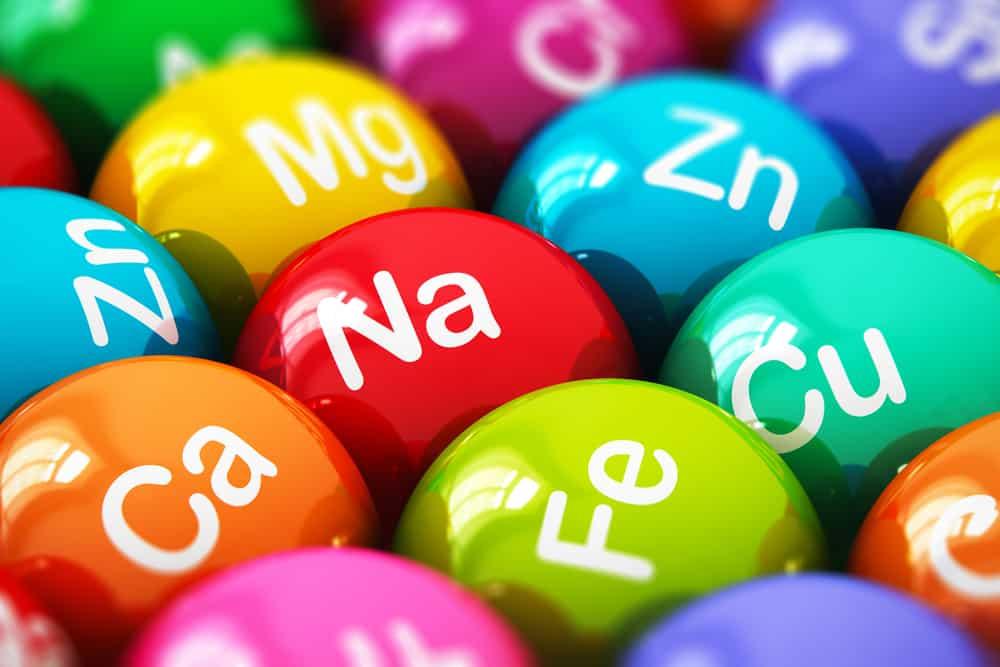 Minerały tabletki