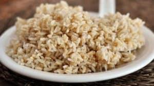brązowy ryż