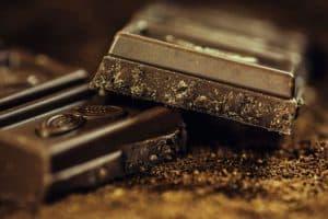 ciemna gorzka czekolada