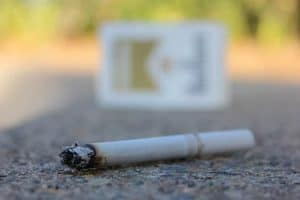 papieros na ziemi