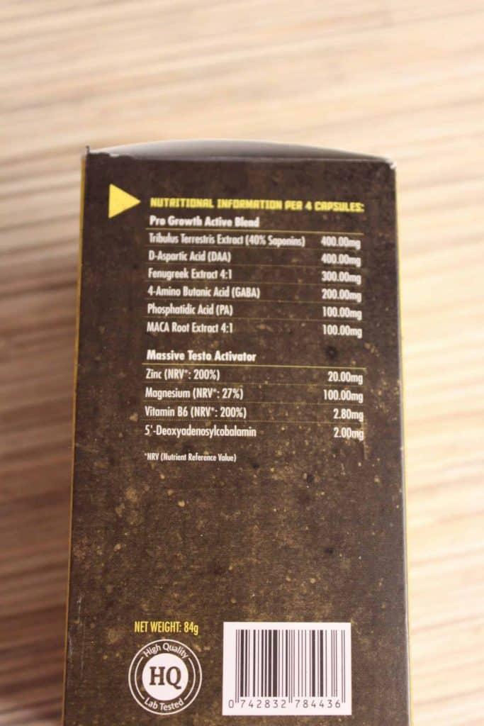 mass extreme skład produktu
