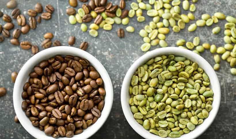 zielona kawa