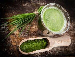 koktajl z zielonym jęczmieniem