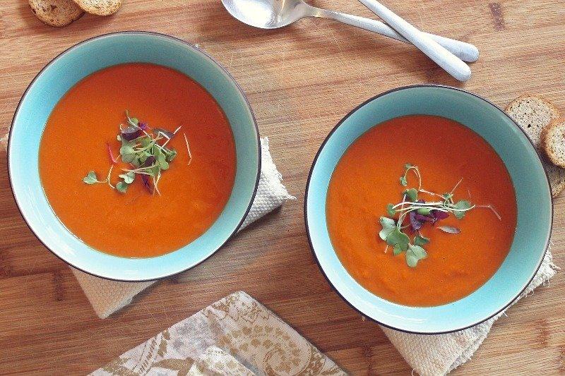 zupa krem w miseczkach