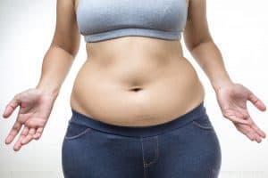 kobieta z nadwagą