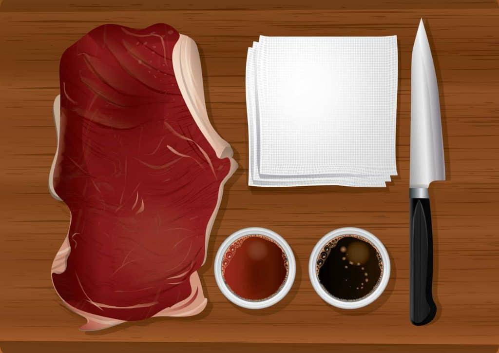 mięso rysunek