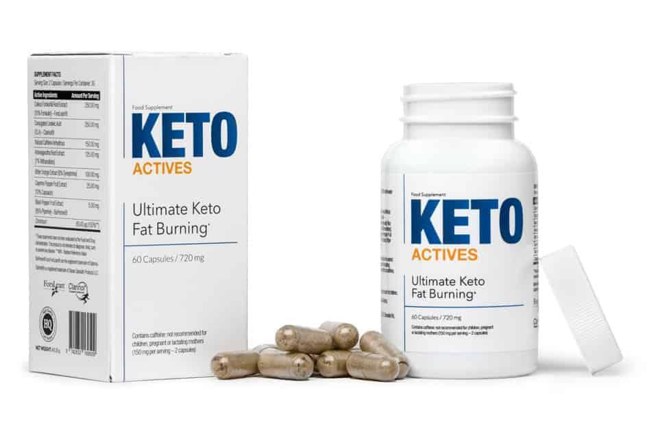Keto Actives capsules