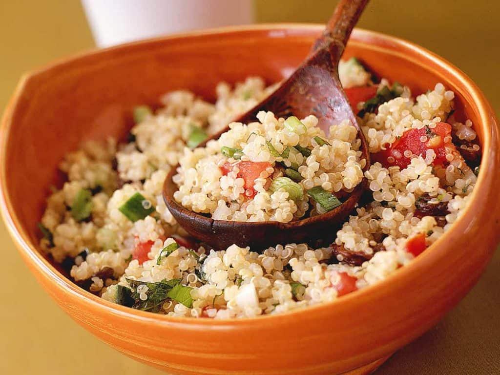 potrawa z komosą ryżową