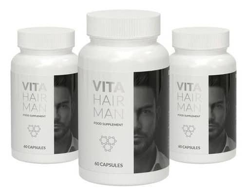 Vita Hair Man opakowania