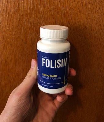 Folisin kapsułki hamujące łysienie