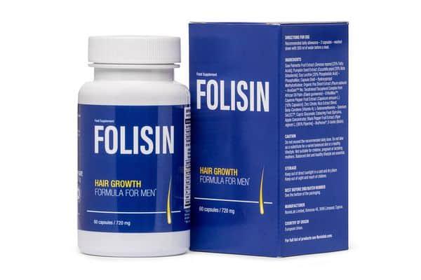 tabletki na porost włosów Folisin