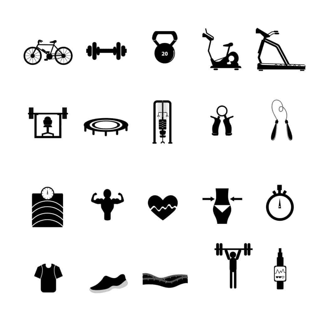 schemat ćwiczeń fizycznych