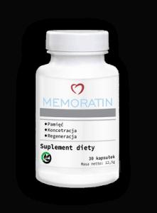 Memoratin, suplement na pamięć i koncentrację