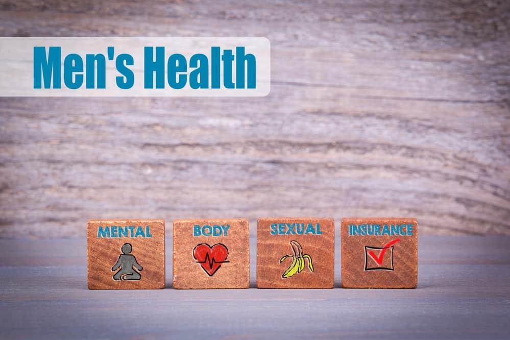 Męskie zdrowie tablica