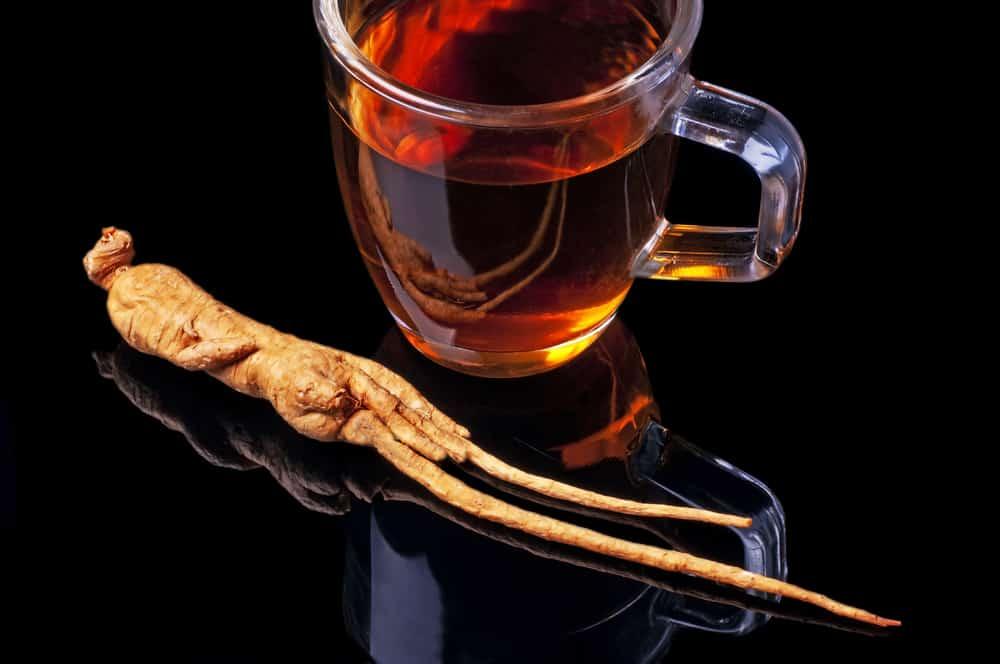 Herbata z żeń-szeniem