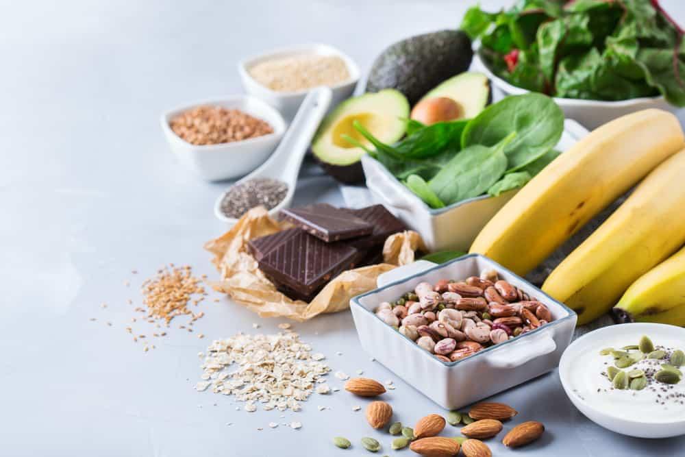 produkty spożywcze z magnezem