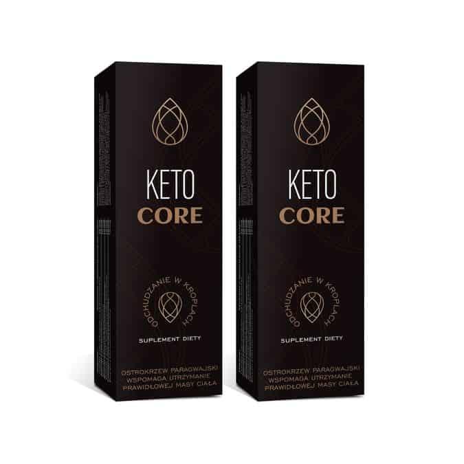 Krople odchudzające Keto Core
