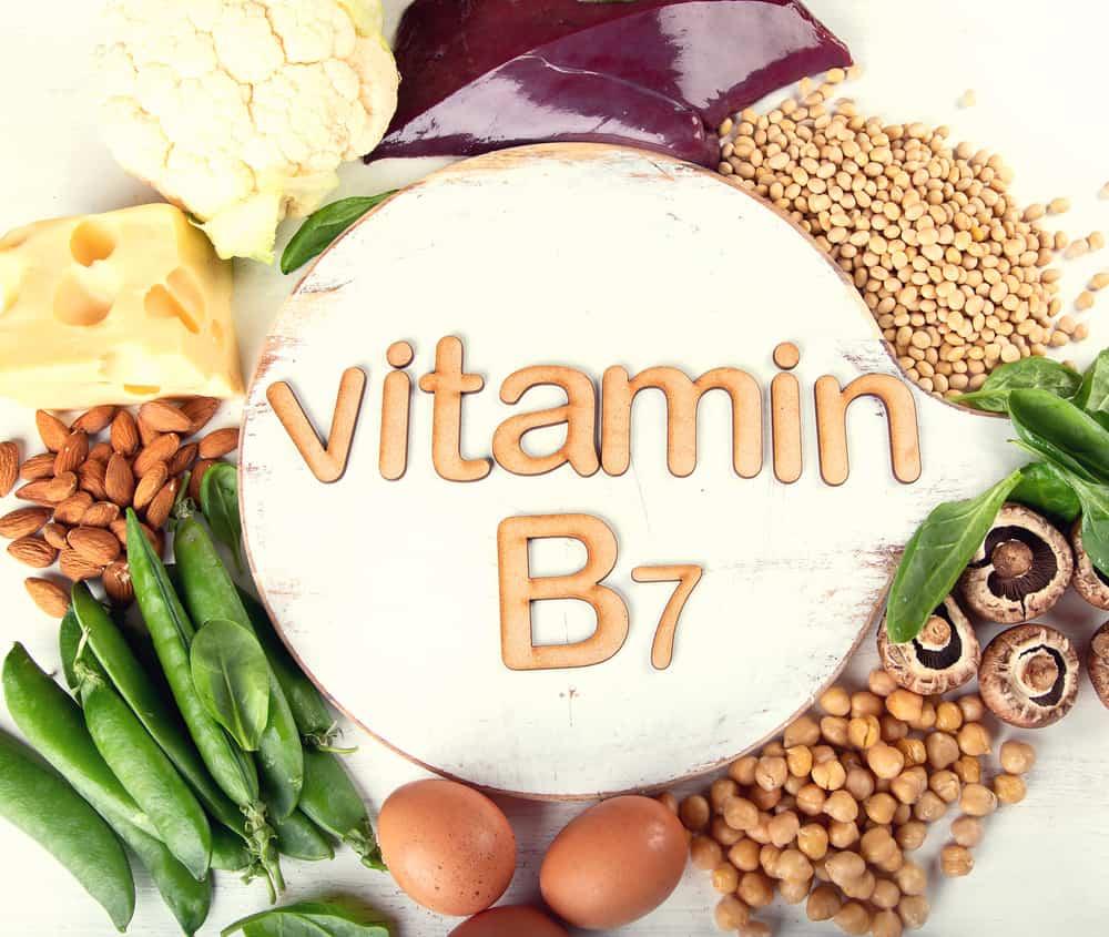 produkty z witaminą B7