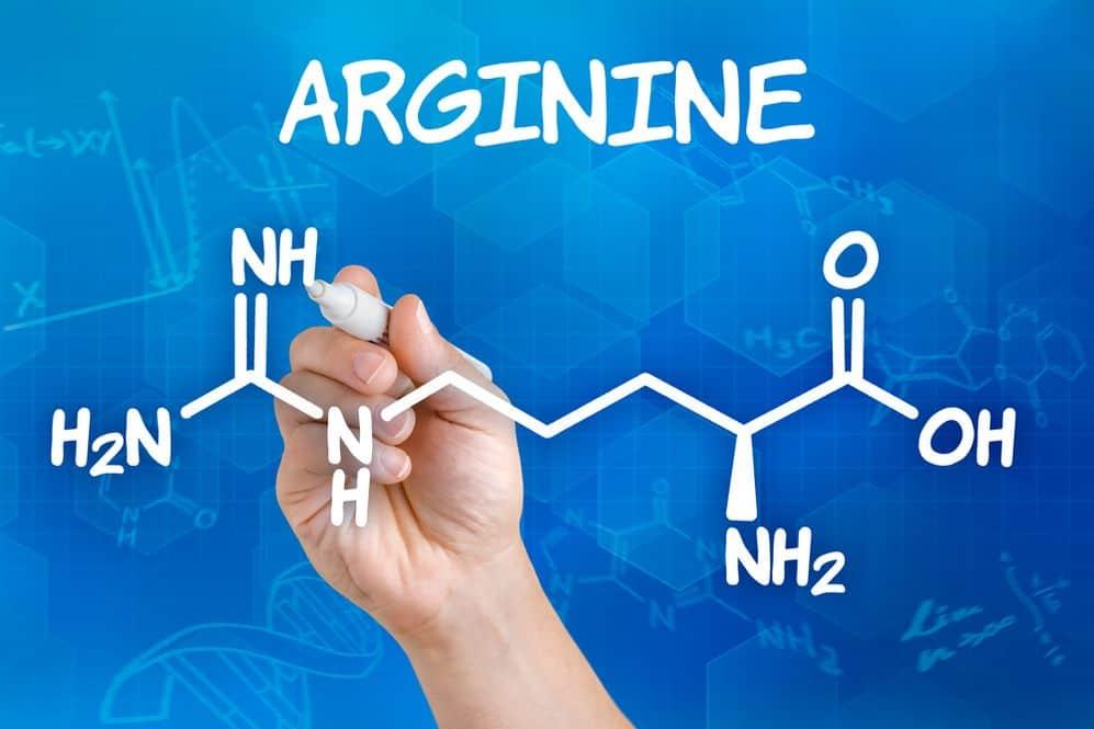 l-arginina wzór chemiczny