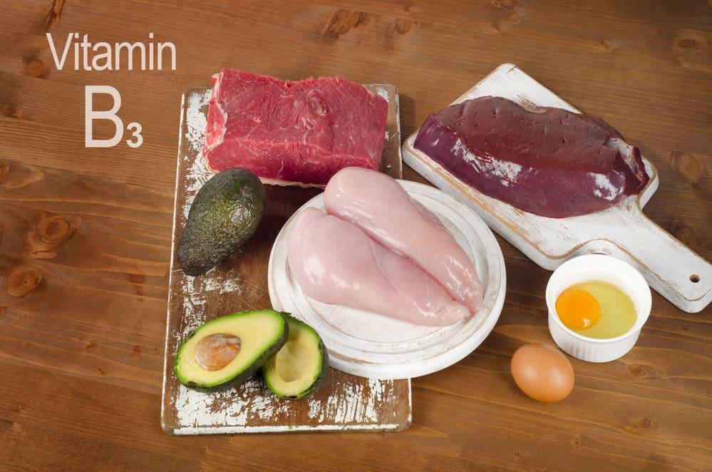 produkty z witaminą B3