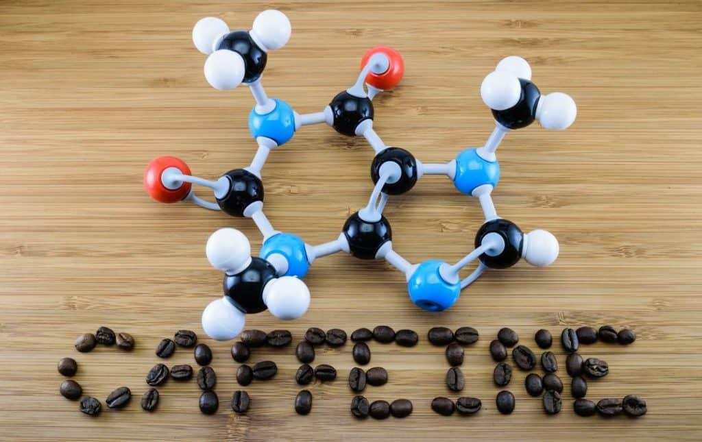 molekuły kofeiny